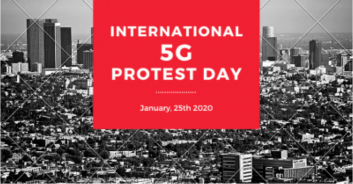 5G Global Protest International-5G-Protest-Day-January-25th-2020