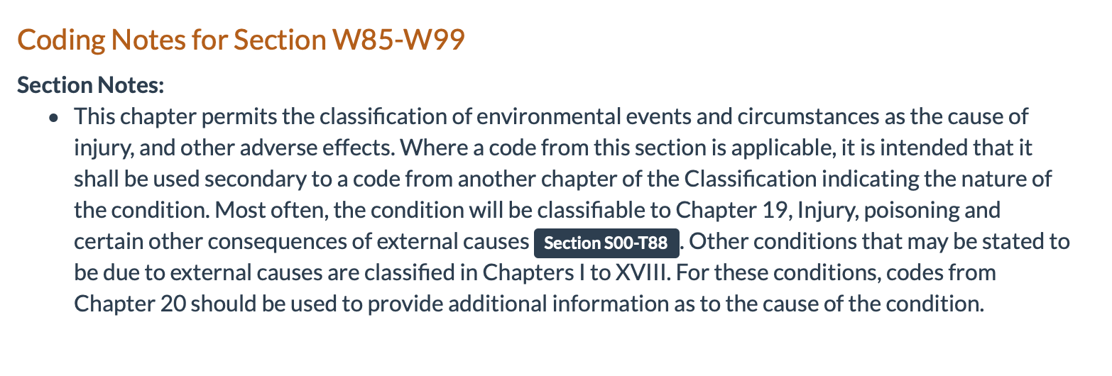 ICD 10 Coding for Environmental illness and radiation Screen Shot 2020-09-27 at 8.07.47 AM